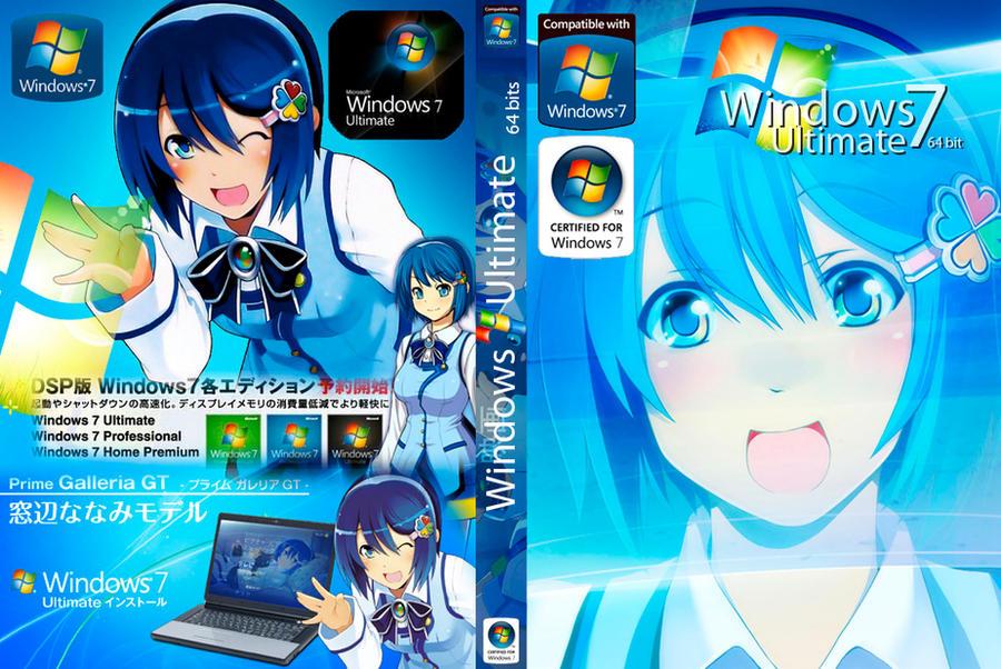 windows 7 tan nanami madobe by metakin on deviantart