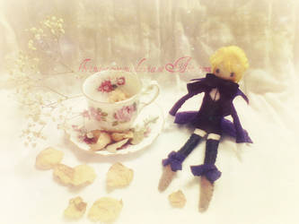 . : TeaTime with Alois Dollie : . by flying-to-you
