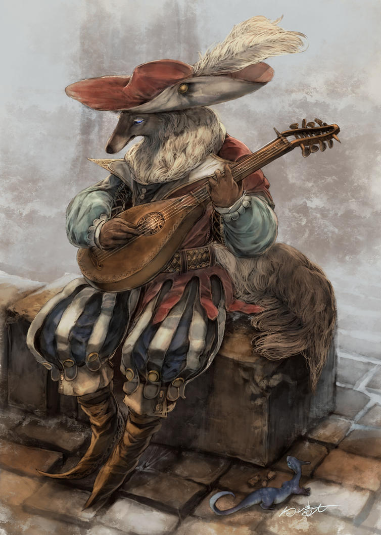 Minstrel dog by ovopack