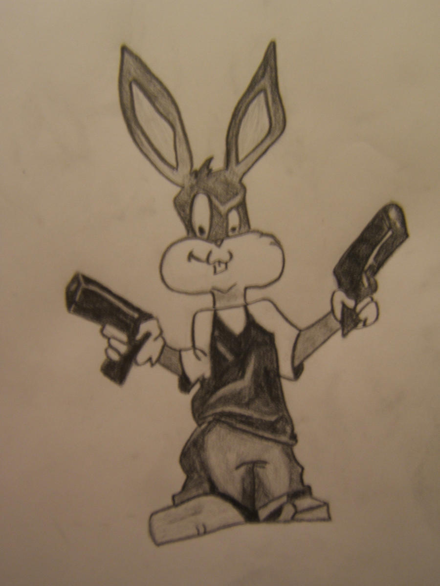 Gangsta Bugs Bunny-2 by pxyxstx on DeviantArt