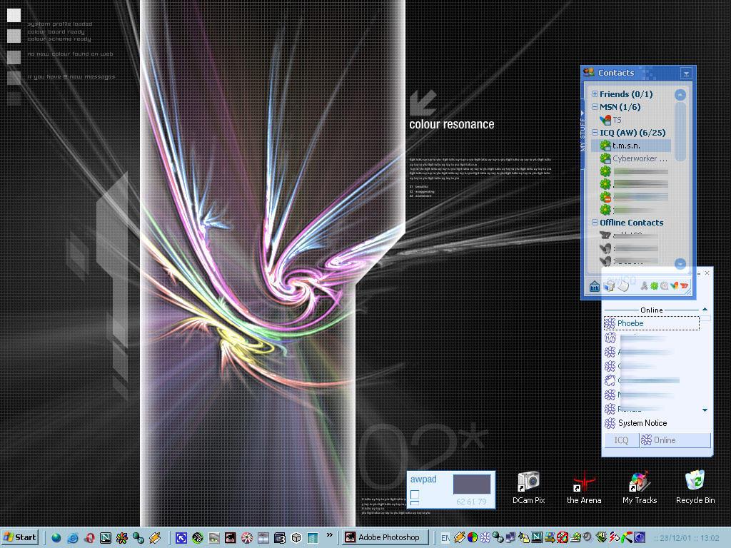 My Color Desktop by niteangel