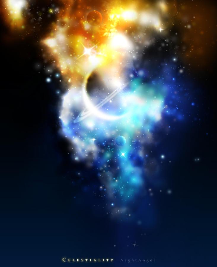 Celestiality by niteangel