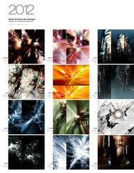 2012 Calendar I by niteangel