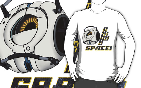 I'm the best at space! - Portal t-shirt by Dr-Bowman