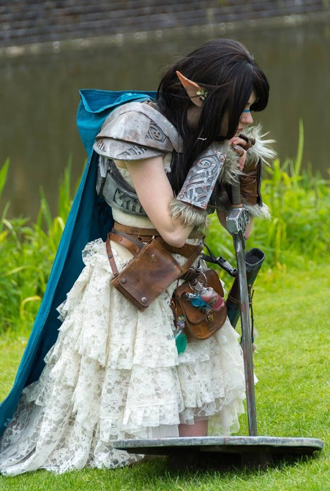 Skyrim Woodelf cosplay (2) by Dr-Bowman