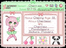 .:Cherr-ee - ID:. by Dokiii-Dokii