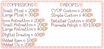 .:Commission Prices Stamp:.