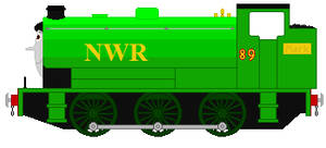 Mark the NWR 'LG' tank engine. by trainnerdFromDenmark