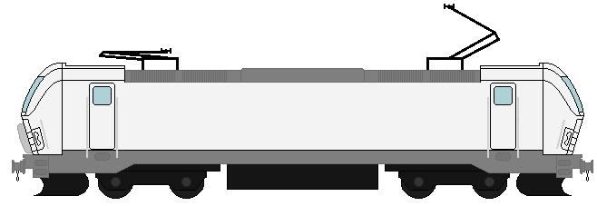 Vectron locomotive Base by trainnerdFromDenmark