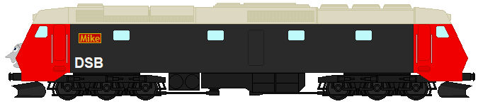 Mike the DSB Class ME 1501