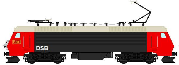 Earl the DSB Class EA 3001