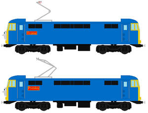 Vrome and Presley the BR Class 86 and 87