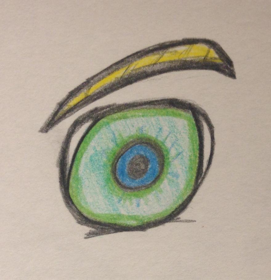 My eye by Piki808