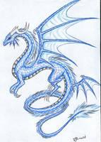 Ice Dragon by Talonclawfange