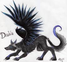 +Demon + Wolf + Diabla+ by Talonclawfange