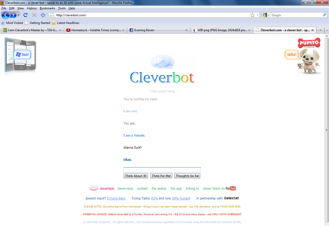 cleverbot sex chat xbox one