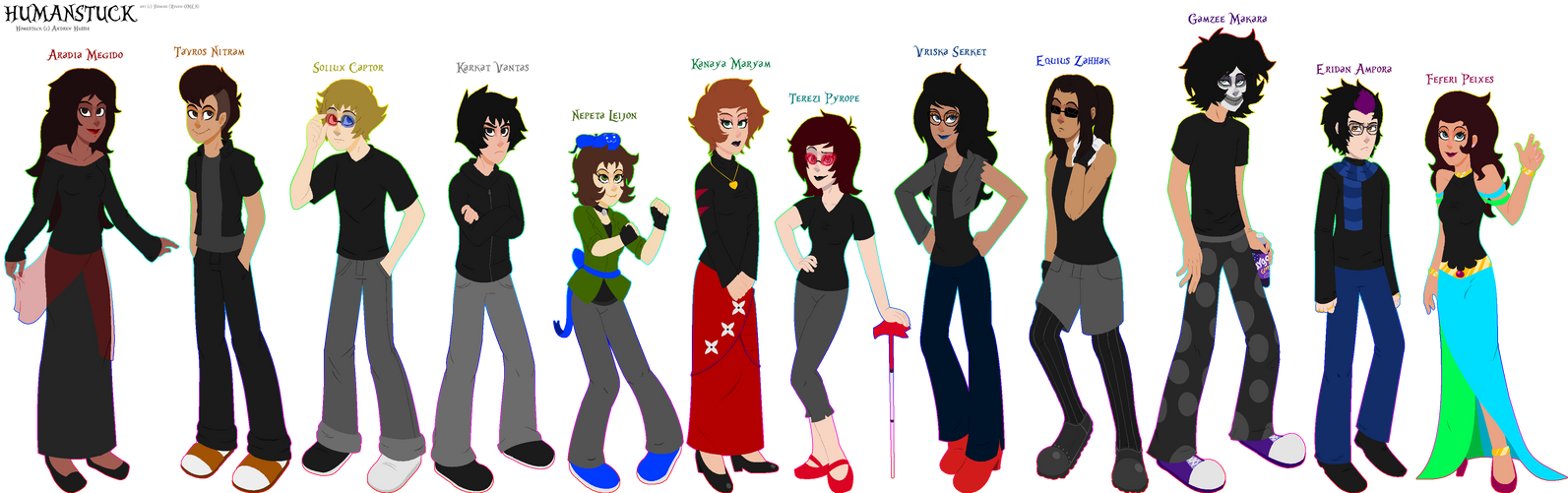HC Humanstuck Trolls Download For Full View By Yazzy