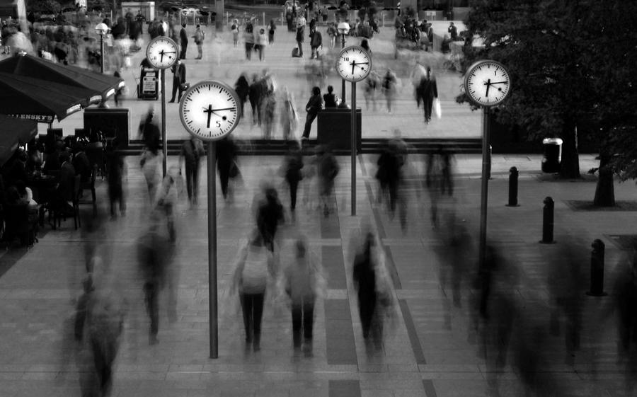 Canary Wharf: Rush Hour