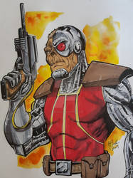 Deathlok by SliceofFate
