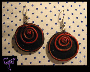 Just a pair of twisted earrings