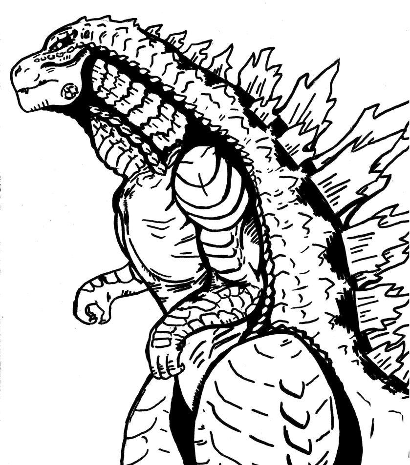 Godzilla 2014 2 By DarkSeraphim02 On DeviantArt