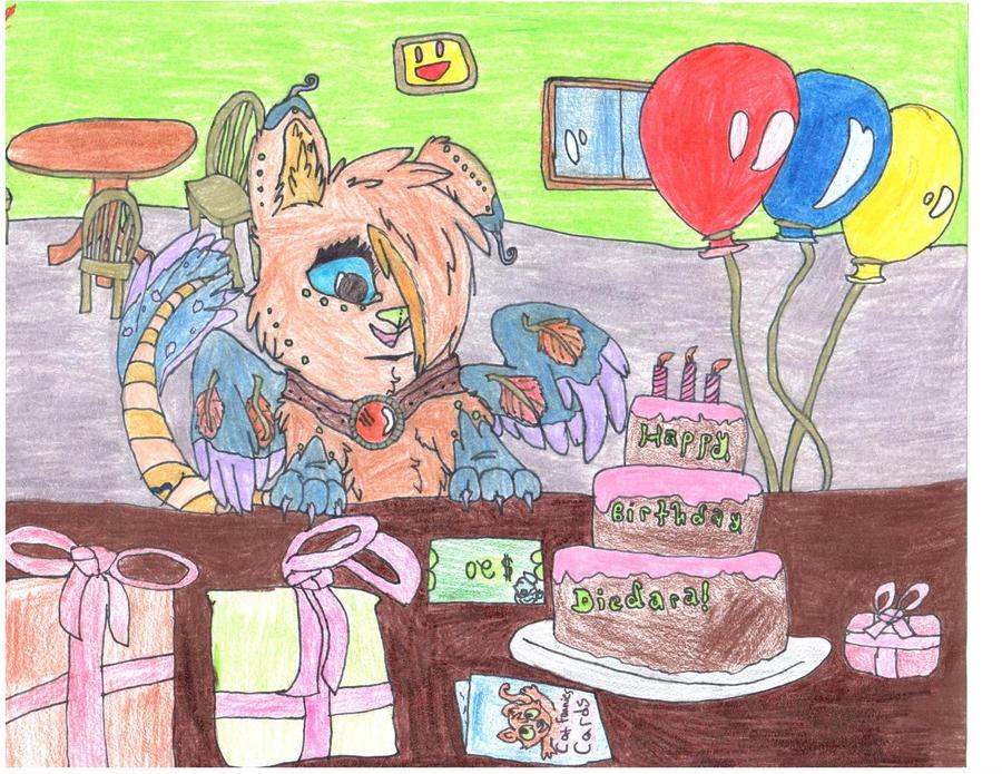 Gift for Deidaras-Dragon by Shelilla