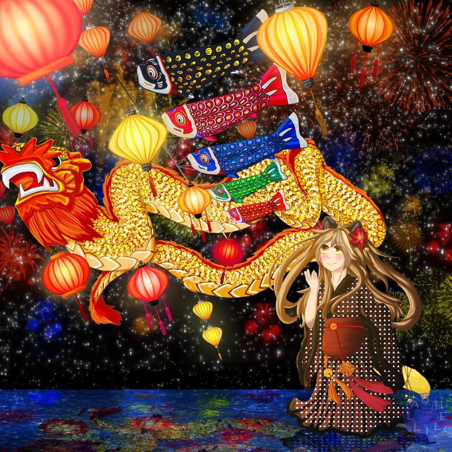 Night Festival by Shelilla