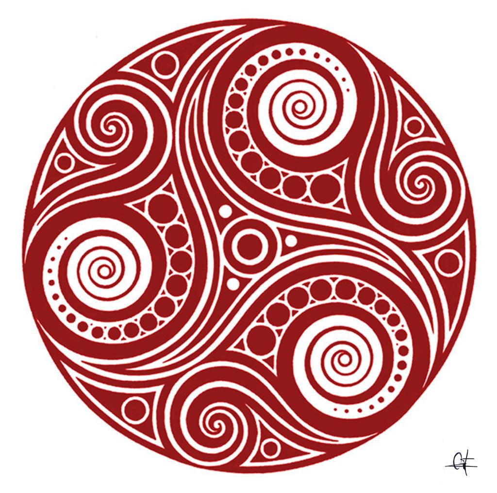 irish symbols coloring pages - photo#17
