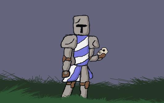 Knight Guy by Arghmlolface