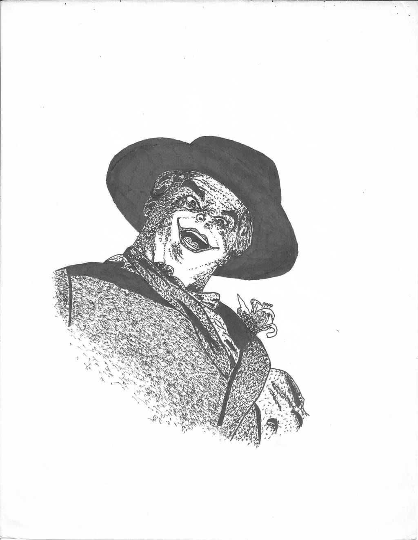 Joker (Tim Burton's version) by hrgpac