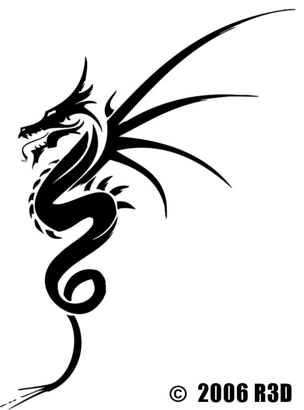 Dragon Tattoo Design By Raz3 On Deviantart