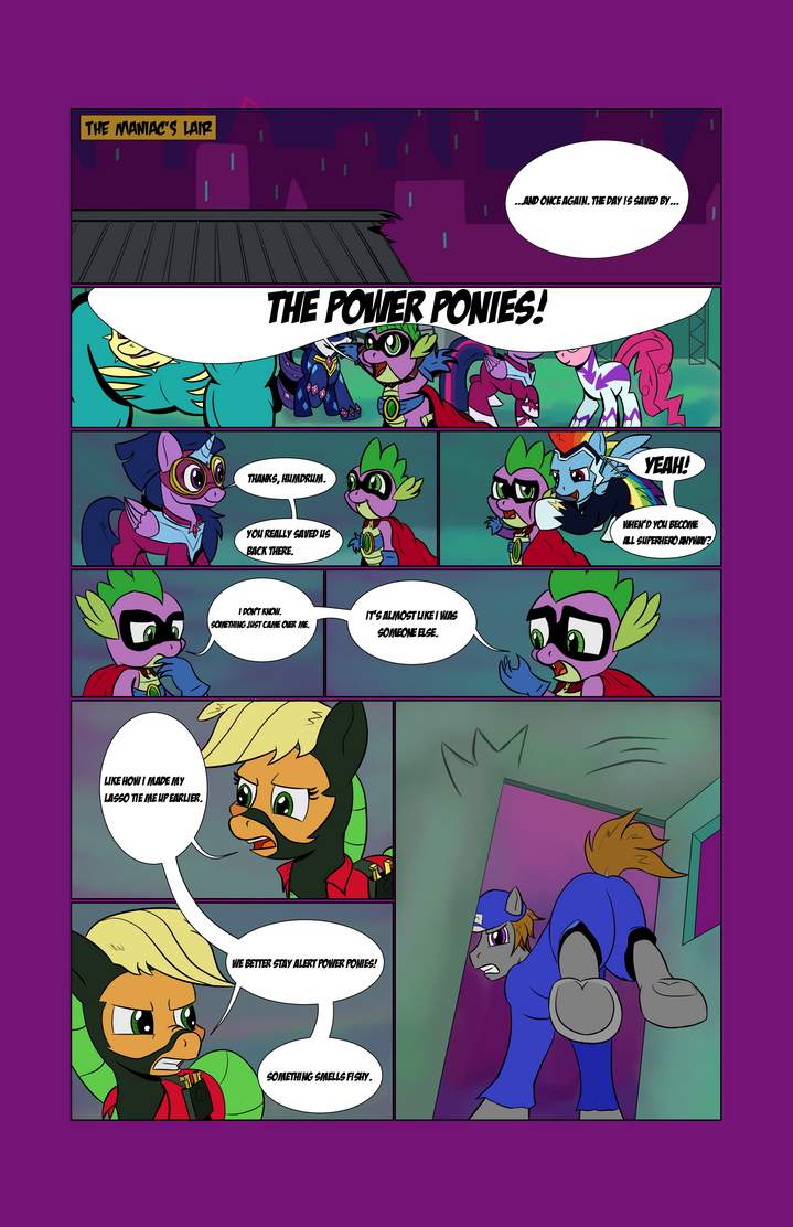 Humdrum: Can I really be a hero? Page 1 by chrisgotjar