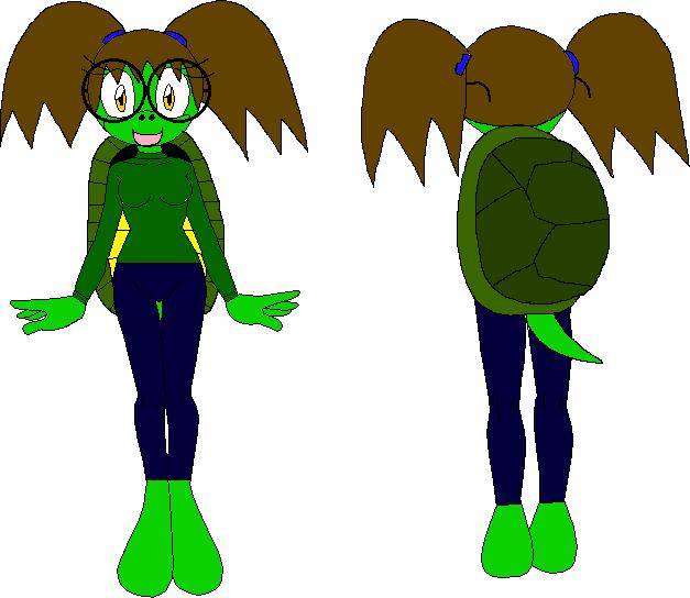 Female Mobian Turtle by XxRobotChaoxX