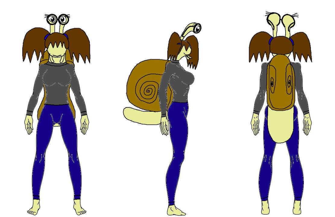 Snail Character by XxRobotChaoxX