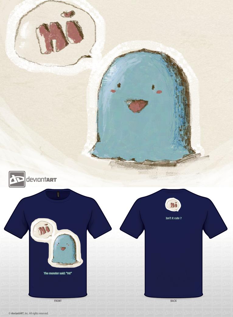 Cutiest Monster Ever by Mokonochan