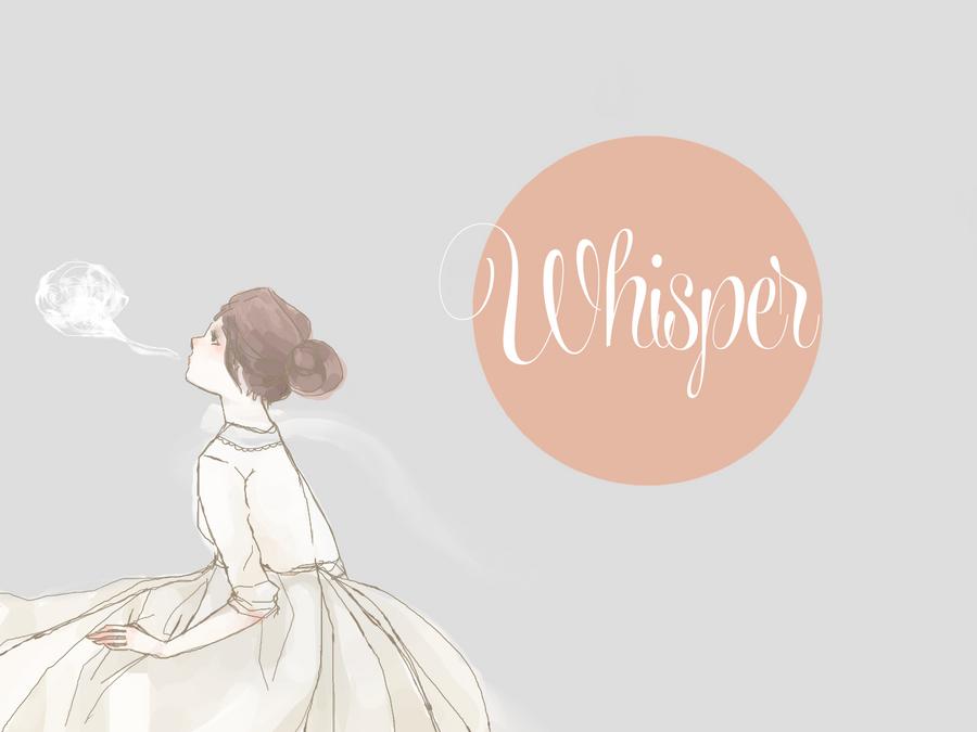 whisper by Mokonochan