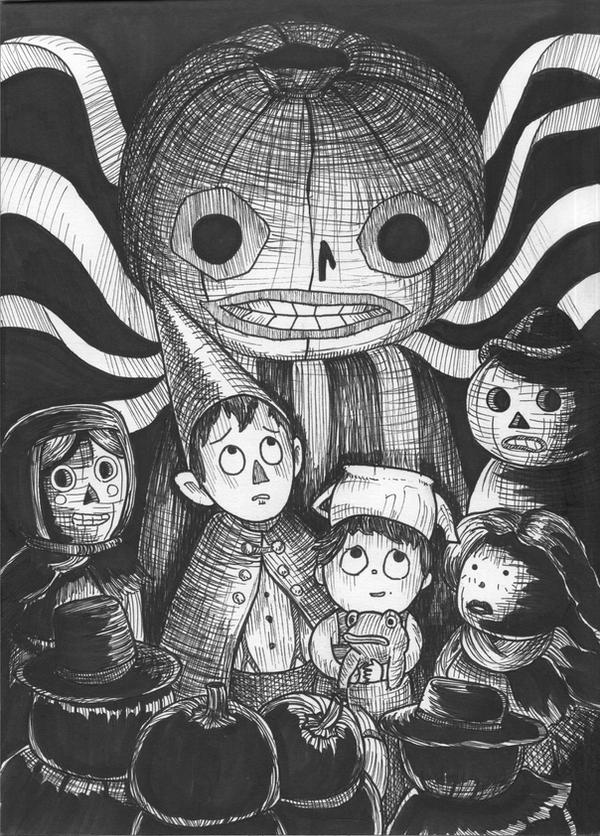 1 Over The Garden Wall Inktober 2015 By Crittercat On Deviantart