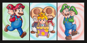 Mario and Luigi: Partners in Time ATCs