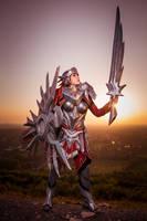 Iron Solari Leona Cosplay - League of Legends by KimontheRocks