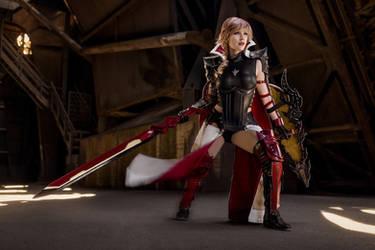 Lightning Cosplay - Final Fantasy XIII-3 by KimontheRocks