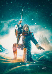 Aranea Highwind Cosplay - Final Fantasy XV DLC