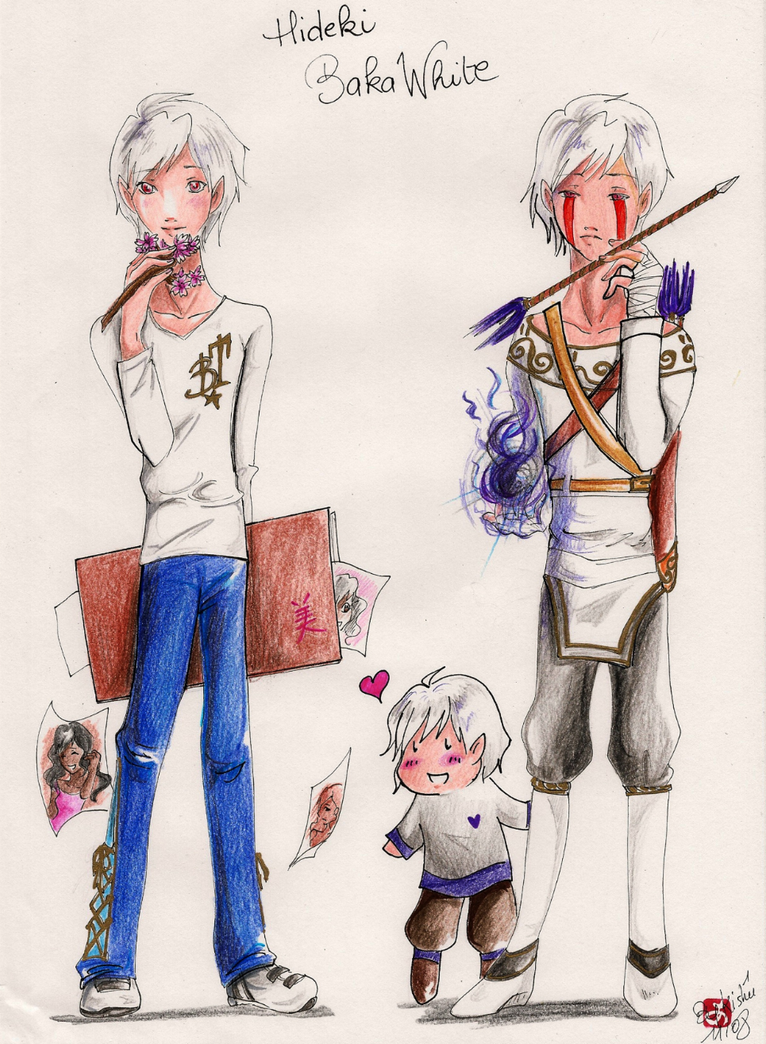 Bt Anime Characters : Bt white character design by aonabi on deviantart