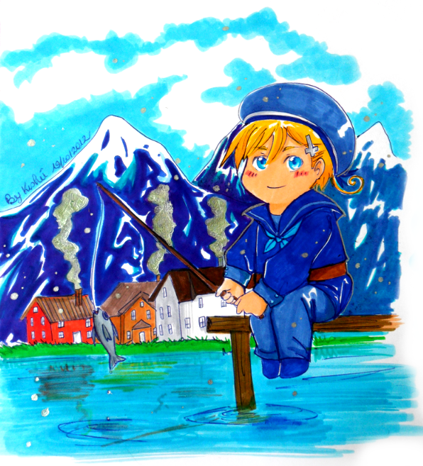 APH (Contest Prize): Fjords and mountains by Aonabi
