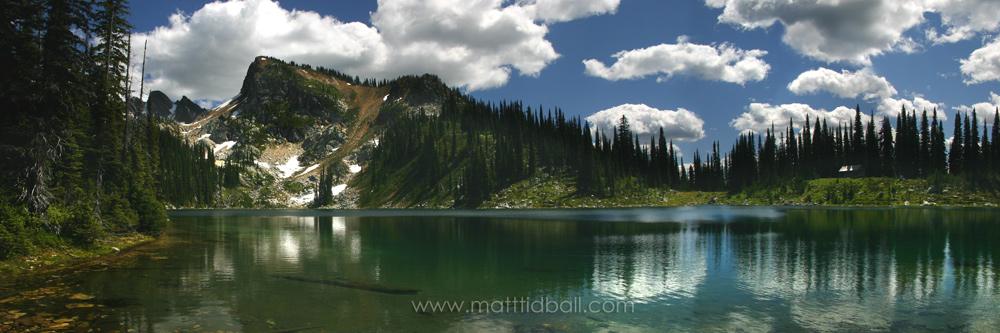 Eva Lake - Mount Revelstoke by mattTIDBALL