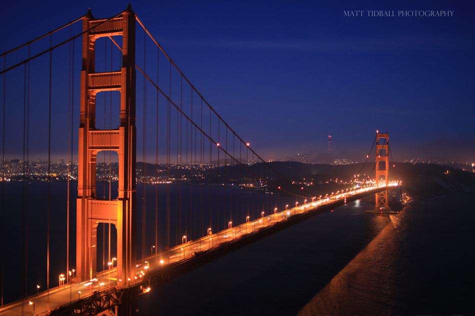 Golden Gate Bridge by mattTIDBALL