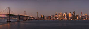 San Francisco - Bay Bridge by mattTIDBALL