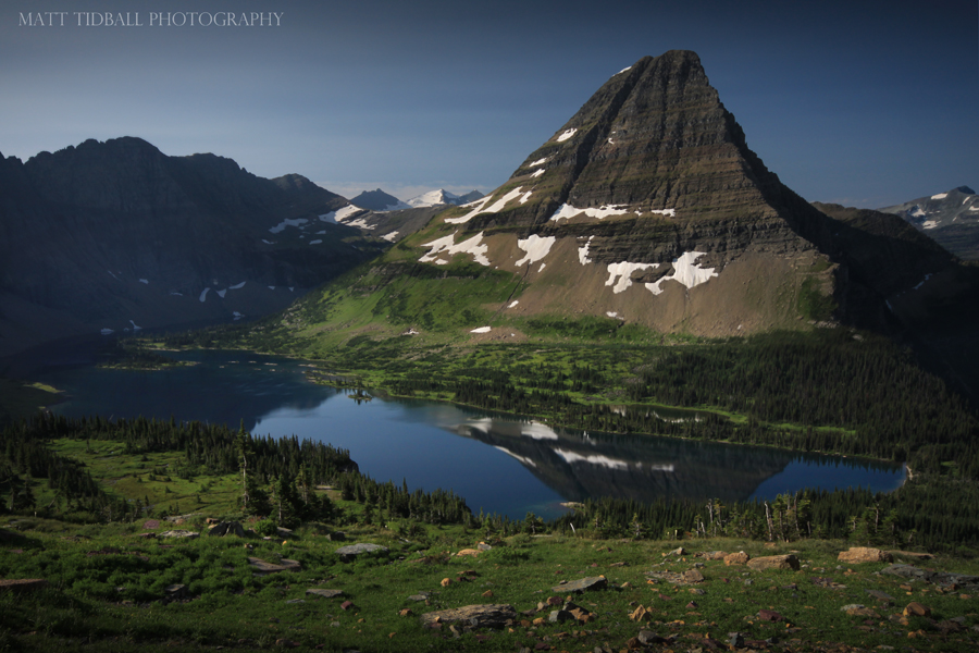 Hidden Lake at Logan's Pass by mattTIDBALL