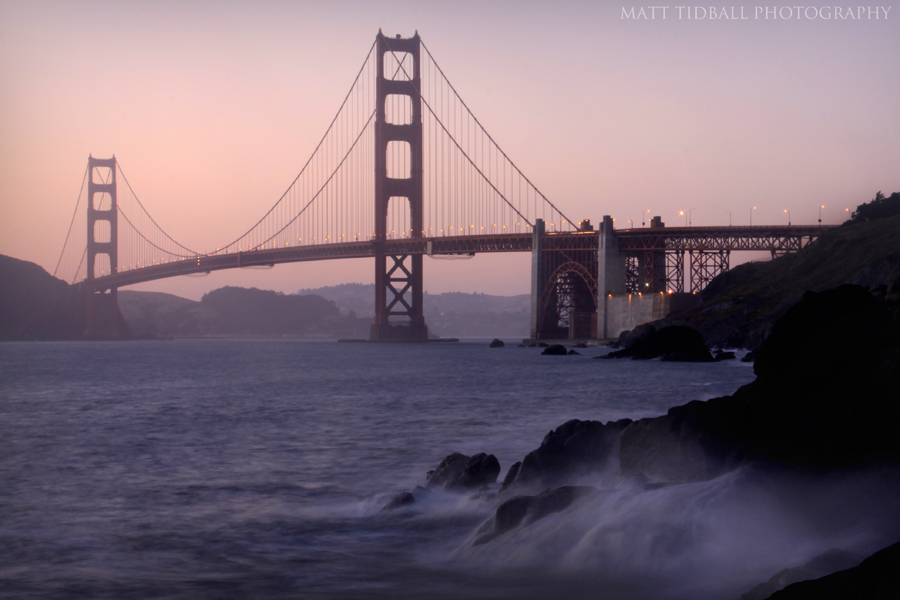 Golden Gate Bridge 2 by mattTIDBALL