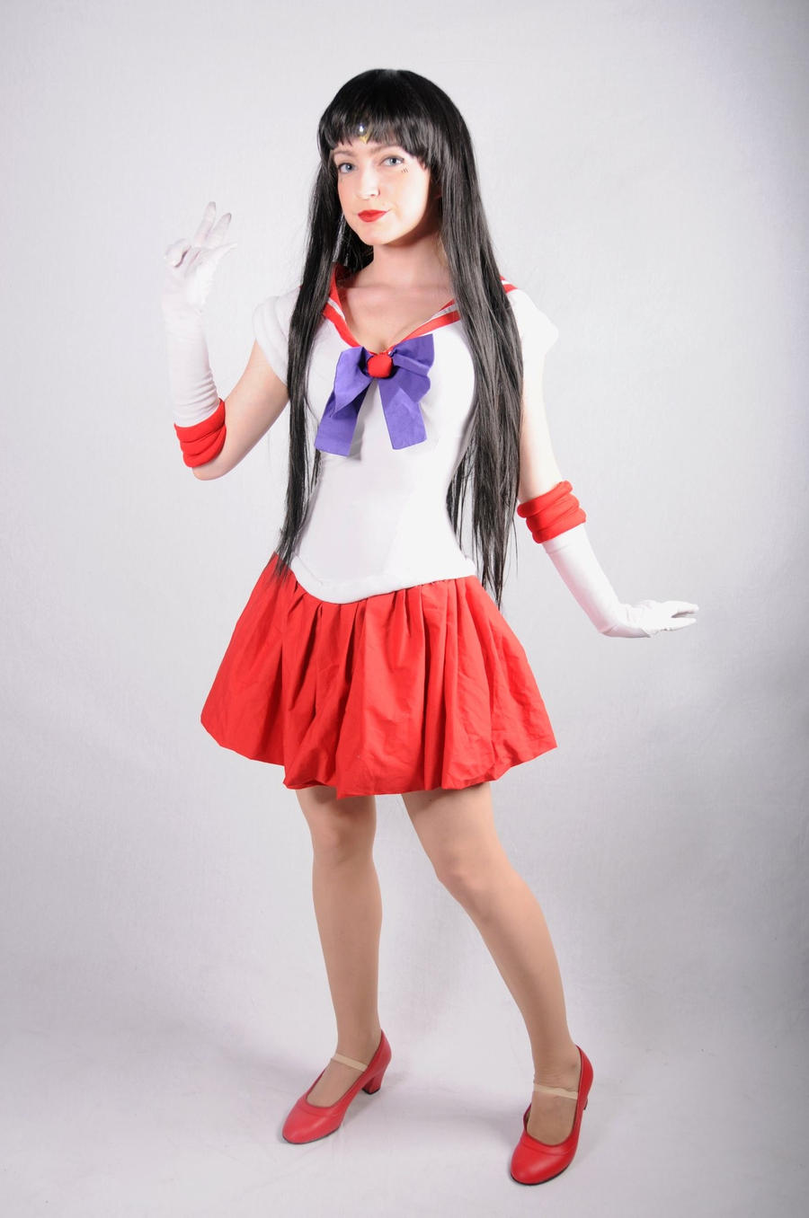sailor mars cosplay by chiquitita-cosplay