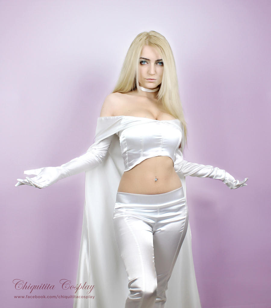 Emma Frost / White Queen by chiquitita-cosplay